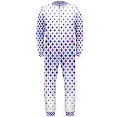 Star Curved Background Geometric Onepiece Jumpsuit (men)
