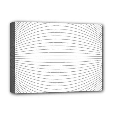 Pattern Background Monochrome Deluxe Canvas 16  X 12