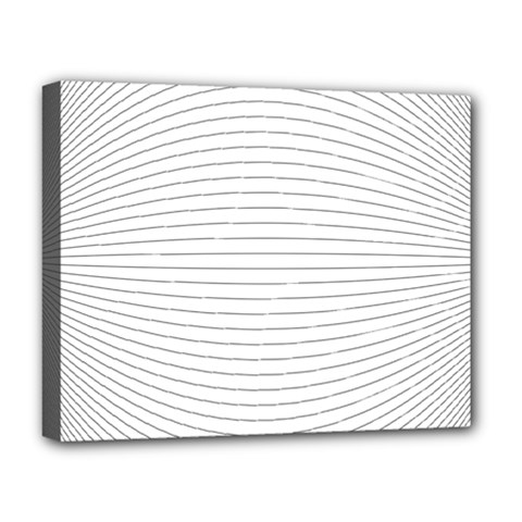 Pattern Background Monochrome Deluxe Canvas 20  X 16