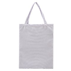 Pattern Background Monochrome Classic Tote Bag