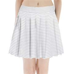 Pattern Background Monochrome Pleated Mini Skirt