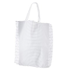 Pattern Background Monochrome Giant Grocery Zipper Tote