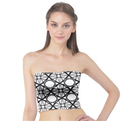 Line Stripe Curves Curved Seamless Tube Top