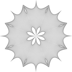 Star Grid Curved Curved Star Woven Folding Umbrellas