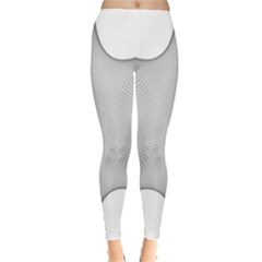 Star Grid Curved Curved Star Woven Leggings