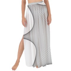 Star Grid Curved Curved Star Woven Maxi Chiffon Tie Up Sarong