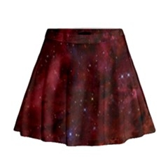 Abstract Fantasy Color Colorful Mini Flare Skirt