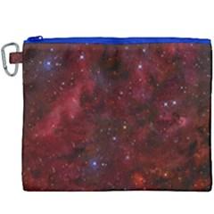 Abstract Fantasy Color Colorful Canvas Cosmetic Bag (xxxl)