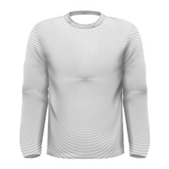 Background Line Motion Curve Men s Long Sleeve Tee