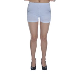 Background Line Motion Curve Skinny Shorts