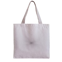 Background Line Motion Curve Zipper Grocery Tote Bag