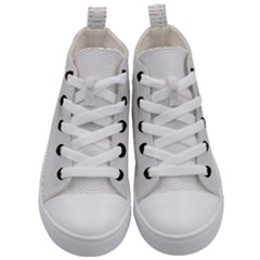 Background Line Motion Curve Kid s Mid Top Canvas Sneakers
