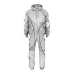 Rotation Rotated Spiral Swirl Hooded Jumpsuit (kids)