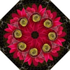 Fantasy Flower Fractal Blossom Straight Umbrellas