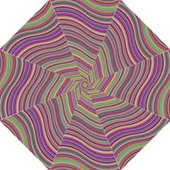 Wave Abstract Happy Background Folding Umbrellas