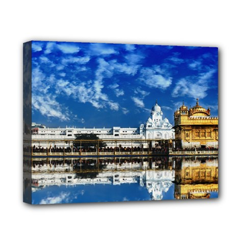 India Punjab Amritsar Sikh Canvas 10  X 8