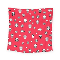 Panda Pattern Square Tapestry (small)