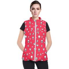 Panda Pattern Women s Puffer Vest