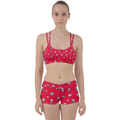 Panda Pattern Women s Sports Set