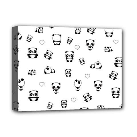 Panda Pattern Deluxe Canvas 16  X 12