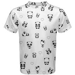 Panda Pattern Men s Cotton Tee