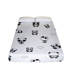 Panda Pattern Fitted Sheet (full/ Double Size)