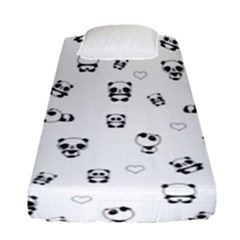 Panda Pattern Fitted Sheet (single Size)