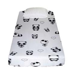 Panda Pattern Fitted Sheet (single Size)