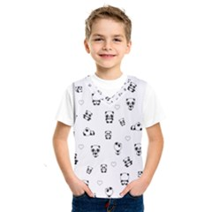 Panda Pattern Kids  Sportswear