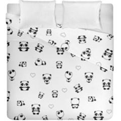 Panda Pattern Duvet Cover Double Side (king Size)