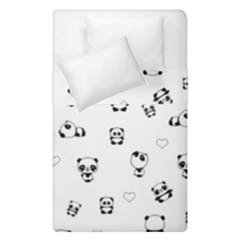Panda Pattern Duvet Cover Double Side (single Size)