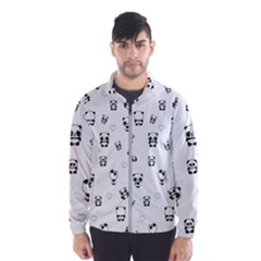 Panda Pattern Wind Breaker (men)