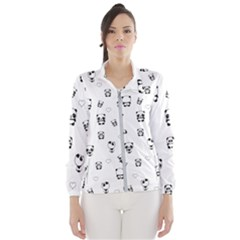 Panda Pattern Wind Breaker (women)
