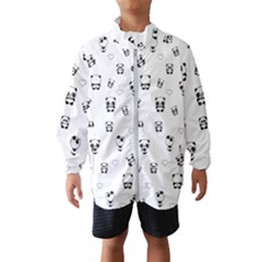 Panda Pattern Wind Breaker (kids)