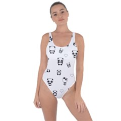 Panda Pattern Bring Sexy Back Swimsuit