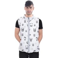 Panda Pattern Men s Puffer Vest