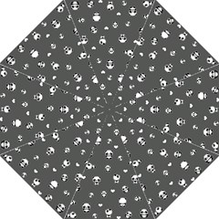 Panda Pattern Straight Umbrellas