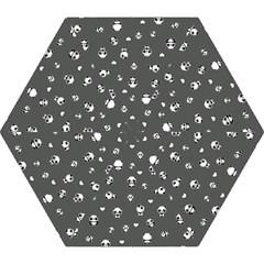 Panda Pattern Mini Folding Umbrellas