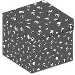 Panda Pattern Storage Stool 12