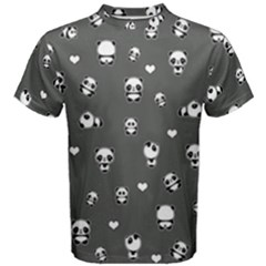 Panda Pattern Men s Cotton Tee
