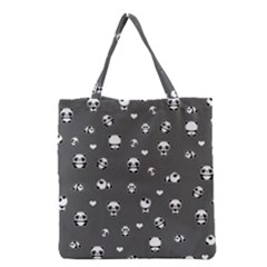 Panda Pattern Grocery Tote Bag