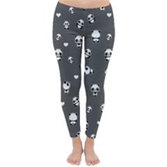 Panda Pattern Classic Winter Leggings