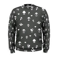 Panda Pattern Men s Sweatshirt