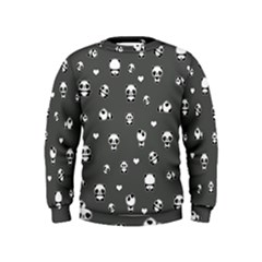 Panda Pattern Kids  Sweatshirt