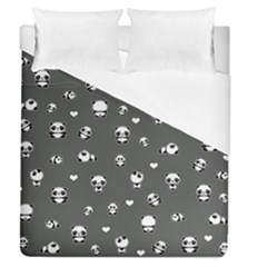 Panda Pattern Duvet Cover (queen Size)