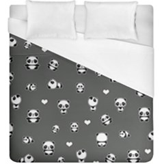 Panda Pattern Duvet Cover (king Size)
