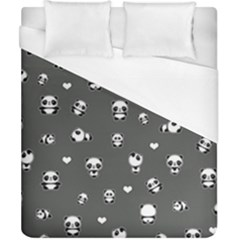 Panda Pattern Duvet Cover (california King Size)