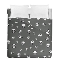 Panda Pattern Duvet Cover Double Side (full/ Double Size)