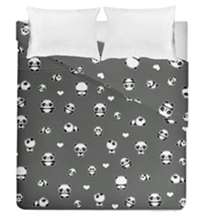 Panda Pattern Duvet Cover Double Side (queen Size)