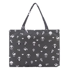 Panda Pattern Medium Tote Bag